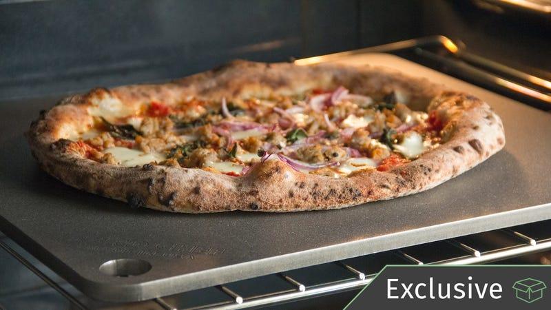 NerdChef Steel Pizza Stones | $72-$99 | Amazon | 10% off with code BAKEMODO