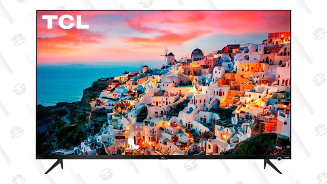 Grab a Stunning Dolby Vision 4K TV For $280