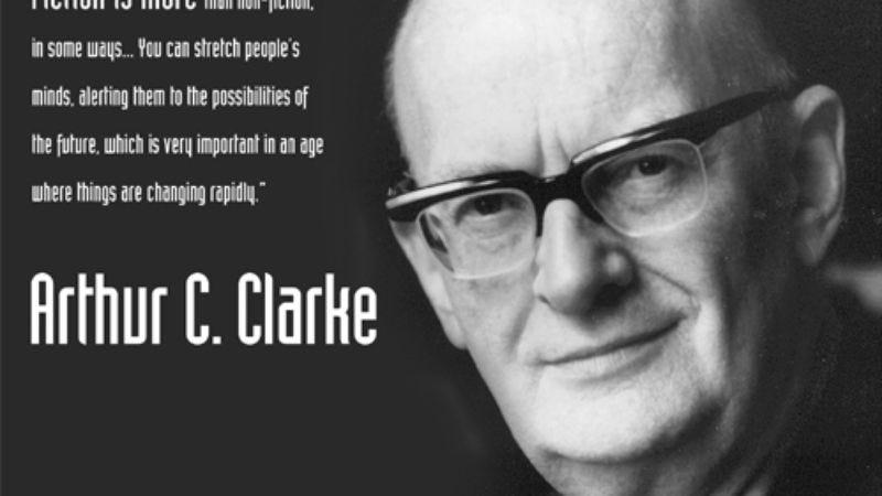 Illustration for article titled Arthur C. Clarke