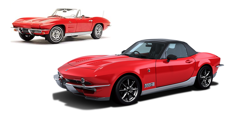 Illustration for article titled Mitsuoka's Glorious Miata-Vette Mashup Is Sold Out