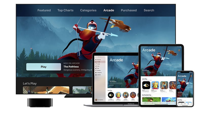 Illustration for article titled Apple Announces Apple Arcade, A Subscription Service For Premium Games