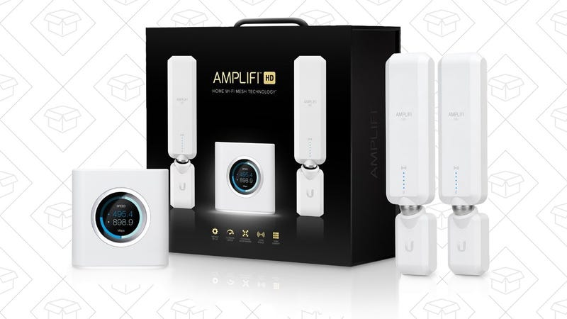 Amplifi HD Home Wi-Fi System | $250 | Amazon