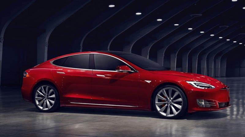 """Illustration for article titled El nuevo Tesla Model S tiene una batería más grande que se puede """"desbloquear"""" pagando"""