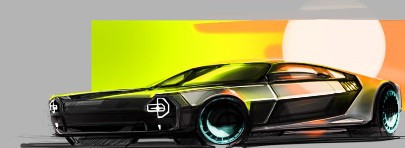 Illustration for article titled Last DeLorean for now