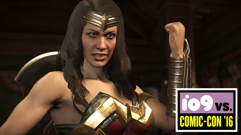 Illustration for article titled Wonder Woman's Pissed Off in the New Trailer for Injustice 2