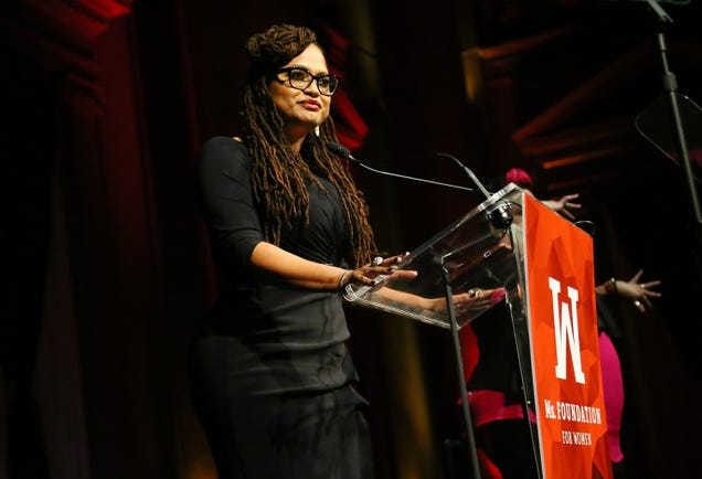 Academy Award-nominated director Ava DuVernay at the Ms. Foundation 30th Annual Gloria Awards at Capitale on May 3, 2018, in New York City