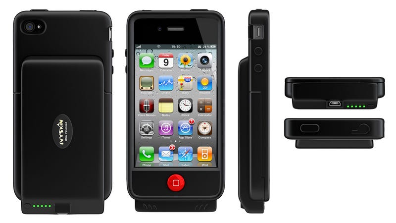 Illustration for article titled The Wrangler Is One Pretty Neat Rugged Case That Can Double Your iPhone's Battery Life