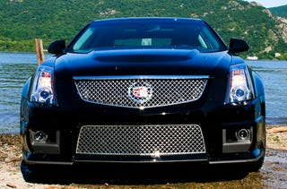 2009 Cadillac Cts V First Drive