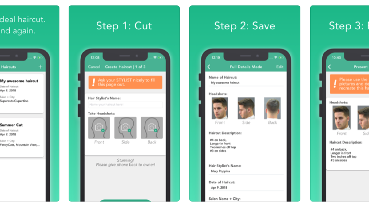 Get The Perfect Haircut Every Time With This App