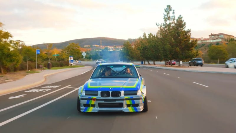 This 800HP Electric BMW M3 is as Docile as a Prius