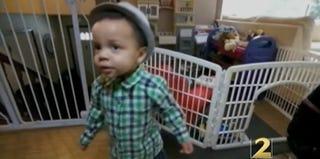 Jessica's Bennett's toddler, Jonah (screenshot, WSB-TV)
