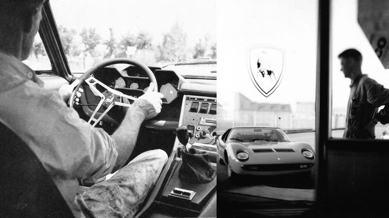 "Illustration for article titled A Salute To Bob ""Jota"" Wallace, Lamborghini's Fastest Engineer"
