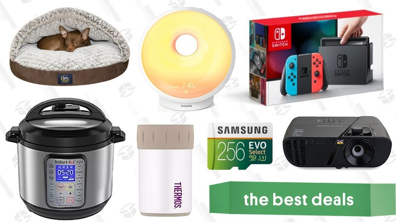 Illustration for article titled Wednesday's Best Deals: Nintendo Switch, Instant Pot, ViewSonic Projector, and More