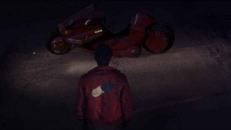 Illustration for article titled Fans made a pretty awesome fake trailer for a live-action Akira movie