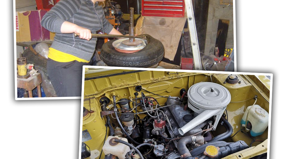 This Lovely Old Toyota Was Restored By a Kid Starting When