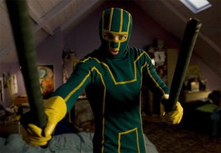Illustration for article titled Kick-Ass Movie Review: Please Step Away From The Comic Book