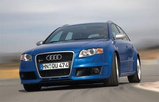 Illustration for article titled Audi RS4 Avant