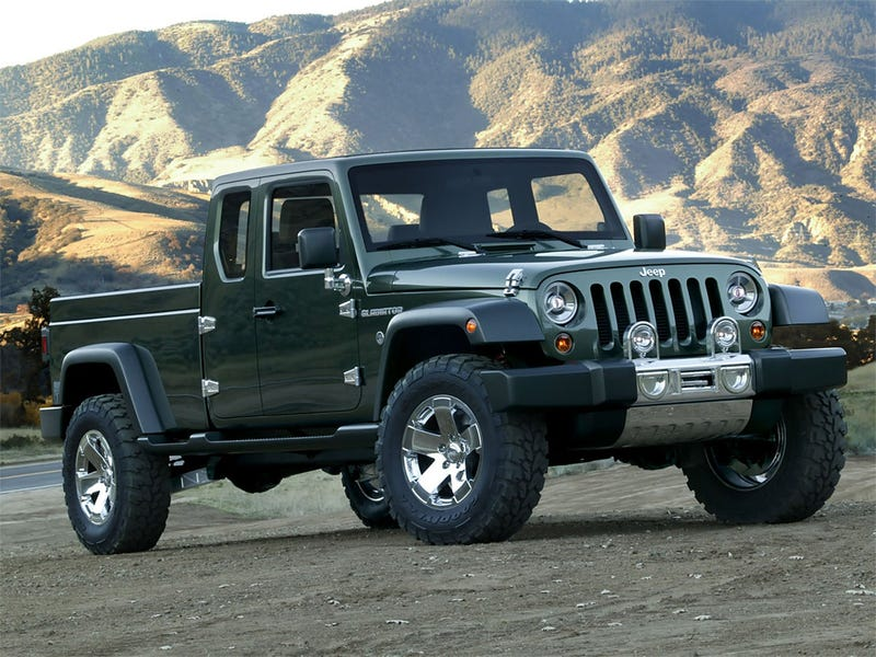 Illustration for article titled REPORT: Jeep Pickup Truck Coming For 2012