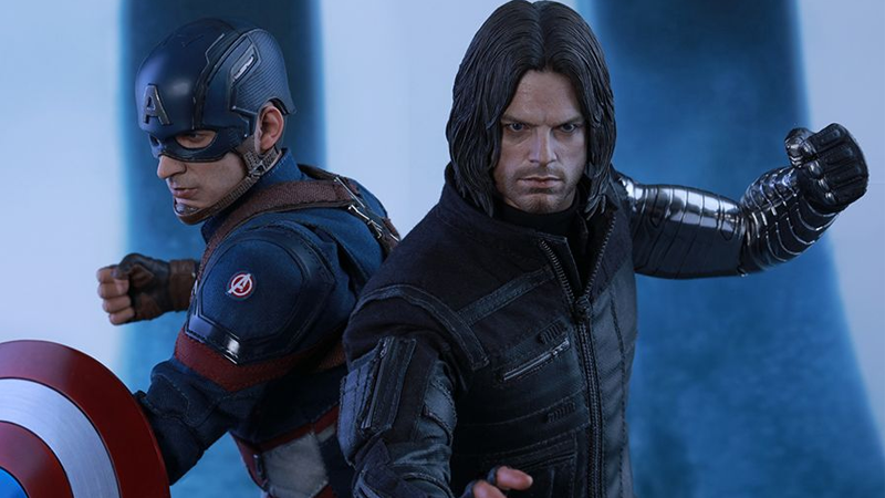 Illustration for article titled Hot Toys' New Marvel Figures Prove the Real Civil War Is Over Your Wallet
