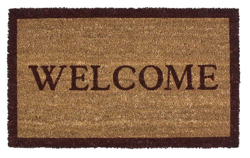 Illustration for article titled Has The Welcome Mat Outlived Its Welcome?