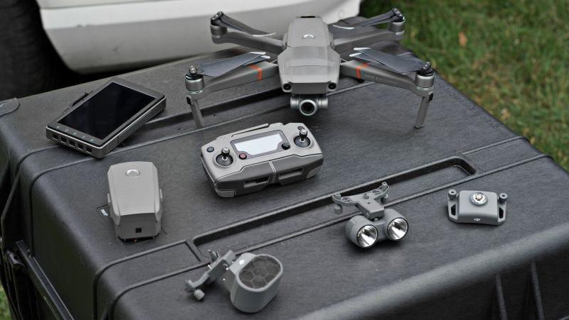 👍 Dron DJI plegable para rescates se adapta a situaciones extremas con módulos intercambiables [+Video]