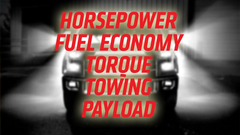 Illustration for article titled Pickup Trucks By The Numbers: Who Wins On Fuel, Power, Towing, Payload