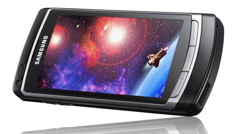 Illustration for article titled Samsung OMNIA HD Makes Calls, Shoots 720P Video