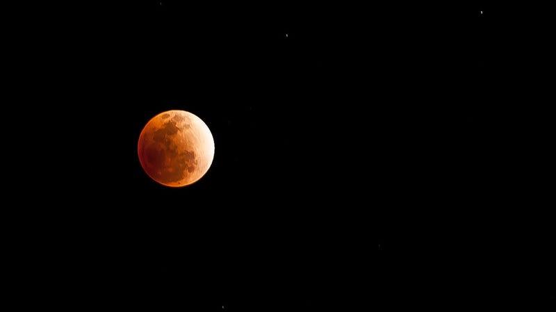 Illustration for article titled Este mes coincidirán en el cielo la Luna del Lobo y la Superluna de Sangre. ¿Qué demonios significa eso?