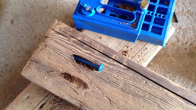 Joinery how to attach wooden boards with pocket screws