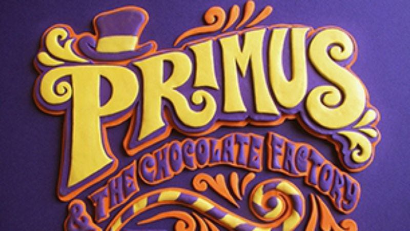 Illustration for article titled Classic Primus lineup reuniting for Willy Wonka tribute album, tour, chocolate
