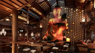 """Illustration for article titled """"Offensive"""" Sex Buddha Statue Removed from Bar"""