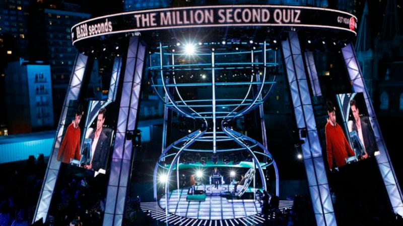 Million Second Quiz has finally been around for a million seconds