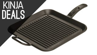 Illustration for article titled Add Lodge's Cast Iron Grill Pan To Your Collection At A New Low Price