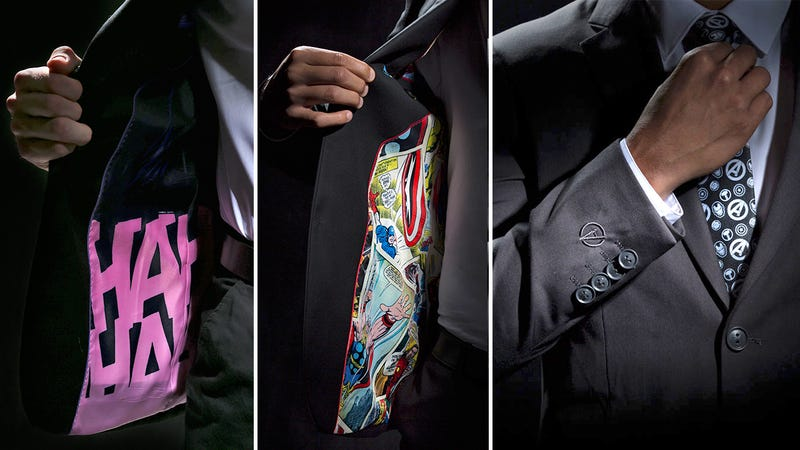 Look as Stylish as Tony Stark in These New Marvel- and DC-Themed Business Suits