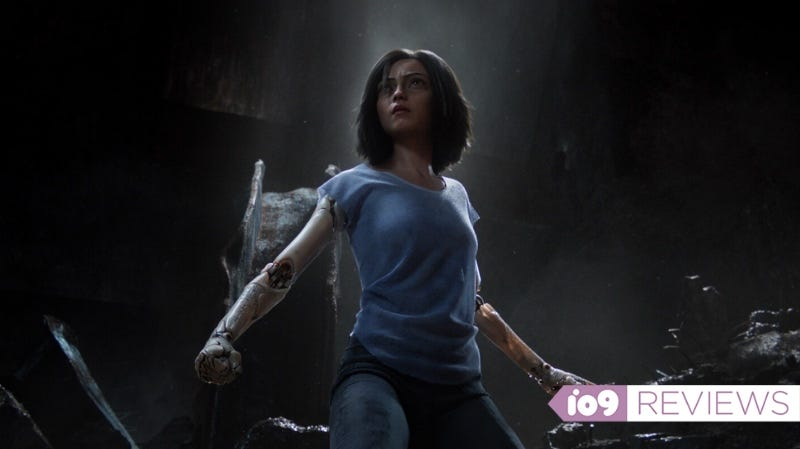 Rosa Salazar stars in Alita: Battle Angel. All photos: 20th Century Fox.