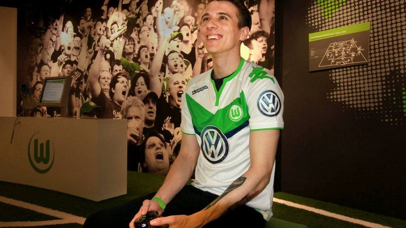 David Bytheway, 22, is now on the books at VfL Wolfsburg