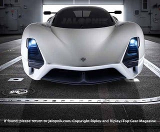 Illustration for article titled SSC Ultimate Aero II Aims For 275 MPH