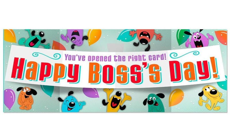 Illustration for article titled A Brief History of 'National Boss Day,' Which Somehow Really Exists
