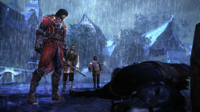 Illustration for article titled Kojima's Castlevania: Lords of Shadow Whips Out New Screens