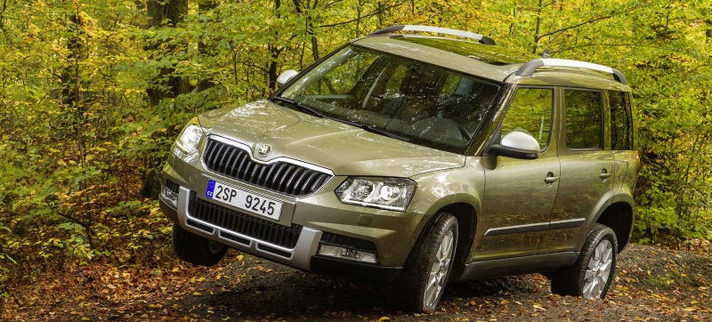 A Skoda Yeti, which is way the hell cooler than a Volkswagen Tiguan