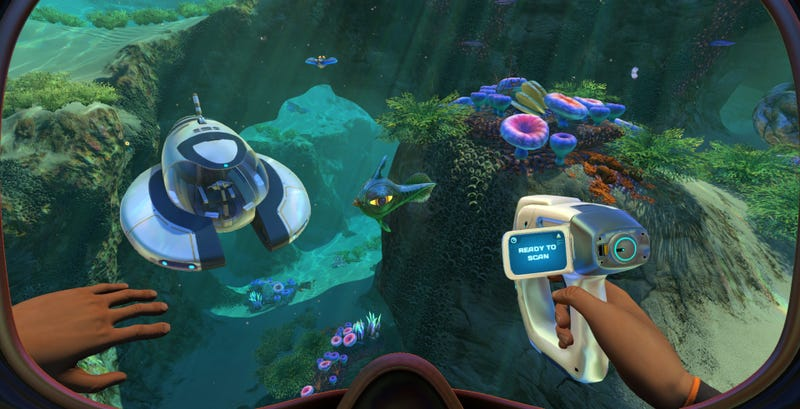 Illustration for article titled Subnautica Dev Fired Over 'Hateful' Statements