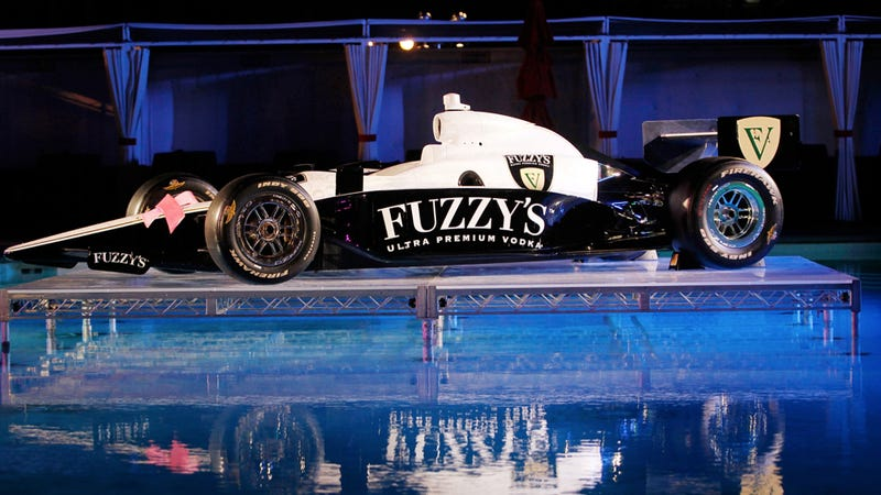 Illustration for article titled The 'Fuzzy's Ultra Premium Vodka IndyCar Triple Crown' Is The Best Name In Racing