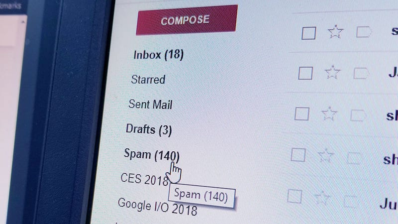Illustration for article titled Worrying New Gmail Scheme Makes It Seem Like You're the One Sending Spam