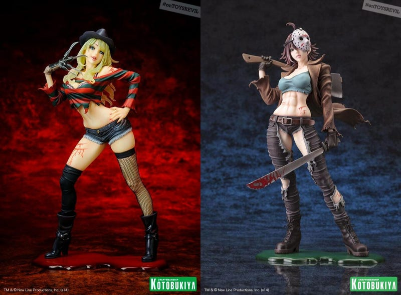 Illustration for article titled Japan Has Turned Horror Icons Freddy And Jason Into Sexy Anime Chicks