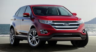 Illustration for article titled Things I Have To Say About The 2015 Ford Edge