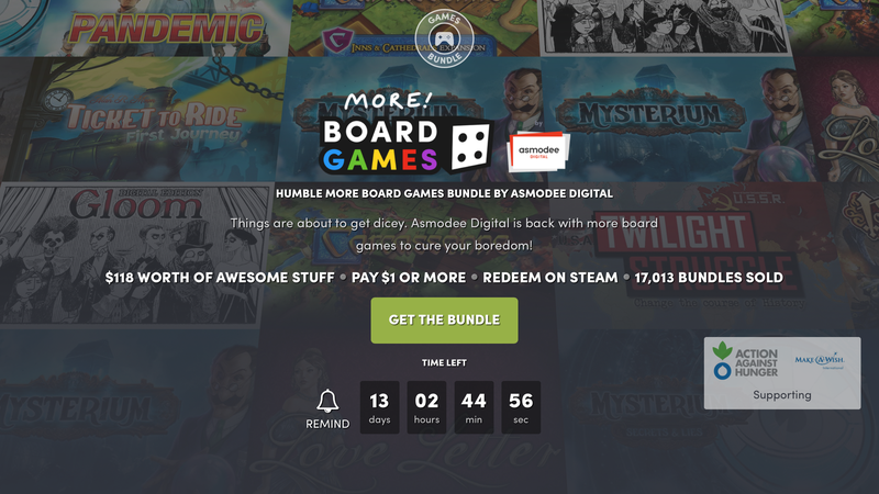 Expand Your (Digital) Board Game Collection With Humble's Newest Bundle