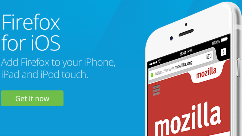 Firefox Is Finally Available on iOS
