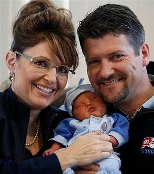 Illustration for article titled Sarah Palin Sentences Future Son To Lifetime Of Ass Kickings, Possible Ice Grooming