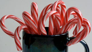 Illustration for article titled Turn Leftover Candy Canes Into Infused Vodka