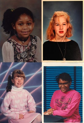 Illustration for article titled Goofy Glasses, Pretty Pigtails & Snaggletooth Smiles: September Is For School Portraits